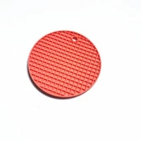 round cellular silicone insulation cushion kitchen non slip waterproof cushioned plaid pad table decoration accessories