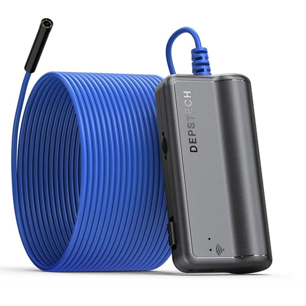 سيارة المنظار كاميرا DEPSTECH 2.0 MP HD IP67 التفتيش كاميرا أندرويد و iOS كمبيوتر لوحي (تابلت) وهاتف ذكي اللاسلكية WiFi Borescope