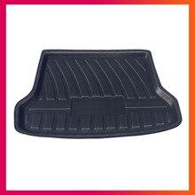 Для Suzuki Grand Vitara 2004-2013 грузовой лайнер лоток для автомобиля задний багажник Грузовой коврик напольный лист ковер грязевая защитная накладка