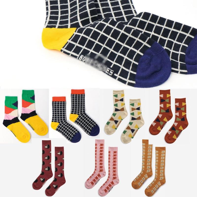 Kids Socks 2021 BC Brand New Winter Autumn Boys Girls Cute Print Sock Baby Children Cotton Fashion