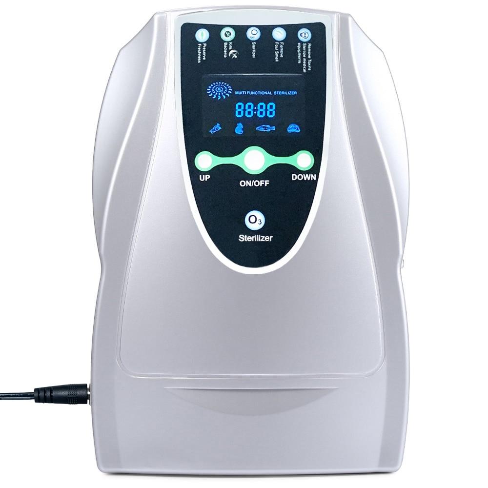 DC 12V Ozone Generator Ozonator ionizer O3 Timer Air Purifiers Oil Vegetable Meat Fresh Purify Air Water EU US PLUG