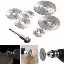 Lame de scie circulaire en acier HSS haute vitesse disques de coupe pour le travail du bois pour outil rotatif Dremel qualité Durable