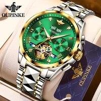 top luxury brand automatic watch men mechanical tourbillon sapphire tungsten steel waterproof wrist watches relogio masculino