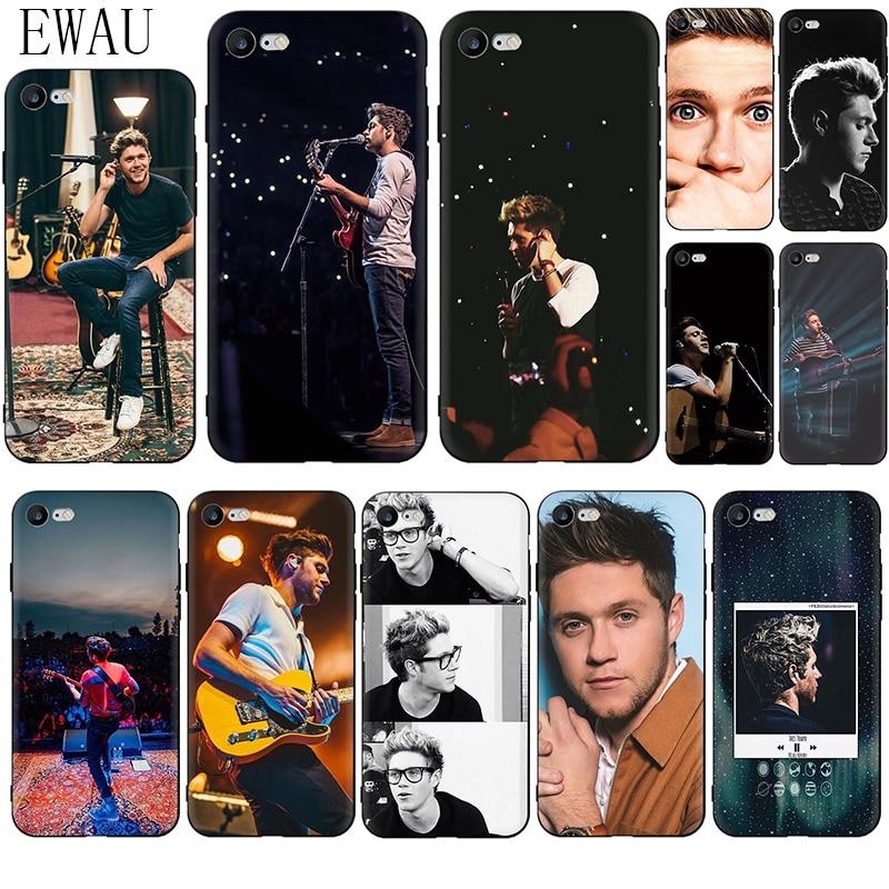 EWAU Niall Horan caja del teléfono de silicona para iphone 5 5s SE 2020 6 6s 7 7 plus X XR XS 11 Pro Max