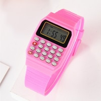 Children watches Multi-function calculator watch Boy electronic test calculator table Kids Alarm Date Electronic Watch Gift A77