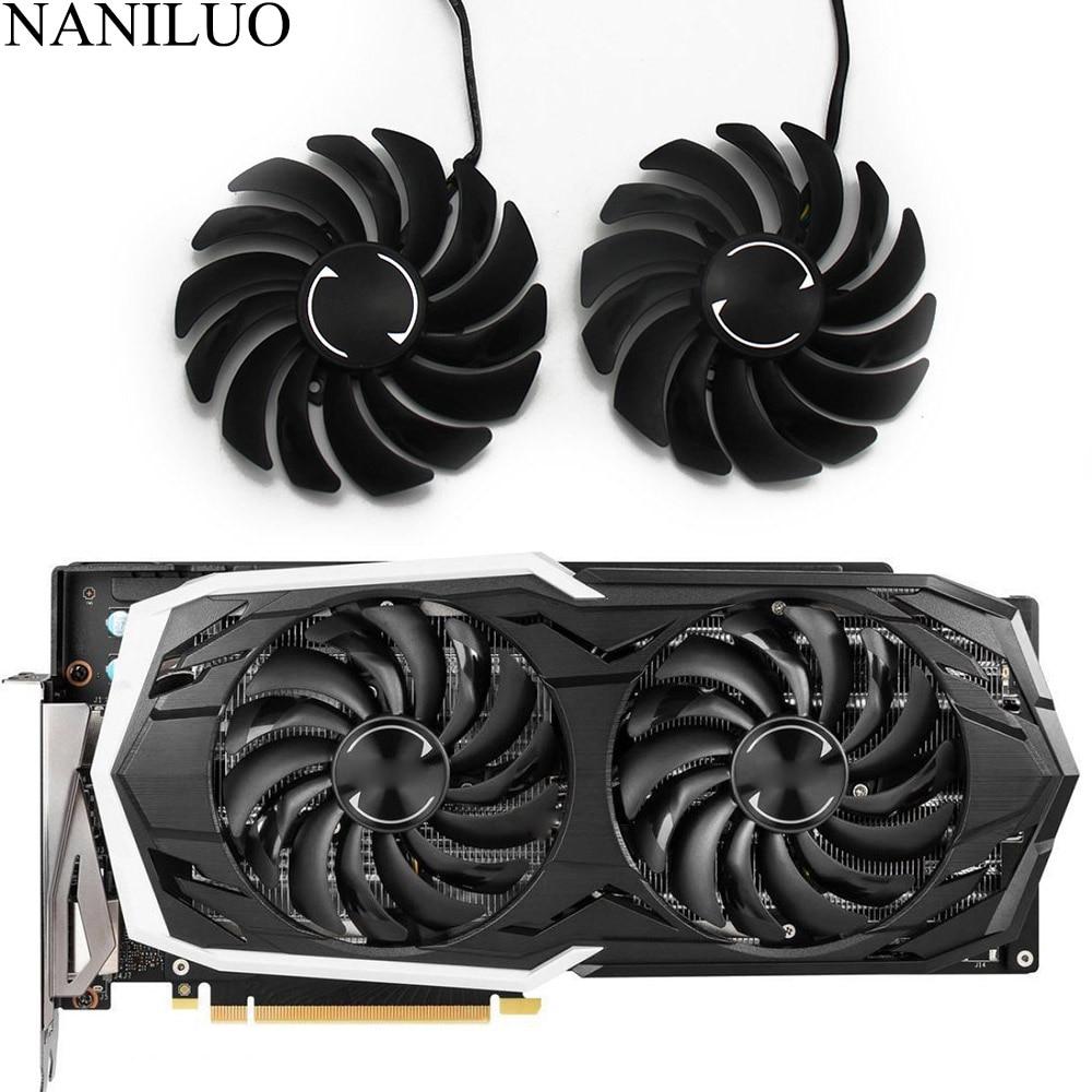 PLD10010B12HH DC12V 0.40A 4PIN RTX2070 FOR MSI GeForce RTX 2070 8GB ARMOR OC Graphics Card Cooler Fans