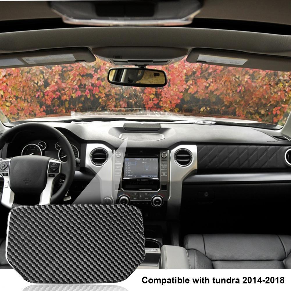 коврик для приборной панели m4 m4 Практичный защитный коврик из углеродного волокна для хранения приборной панели