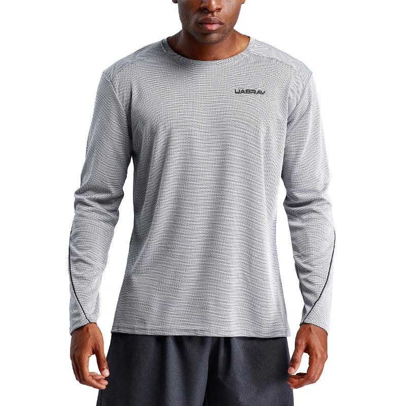 Футболка для бега, Спортивная футболка для футбола, дышащая футболка для баскетбола с длинными рукавами, быстросохнущая футболка, спортивн...