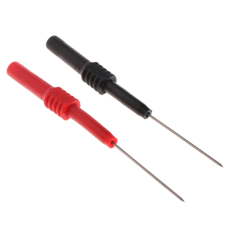 Test Leads Pin L95mm flexible Test Probe Tips 1mm Connector Multimeter Needle