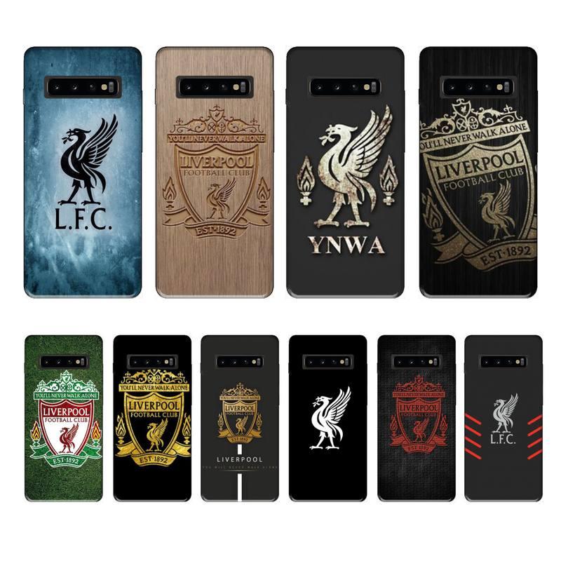 Liverpool Fútbol Club marca de lujo funda coque fundas para samsung galaxy S8 S9 S10e S20 PLUS J6 J600 fundas cubierta