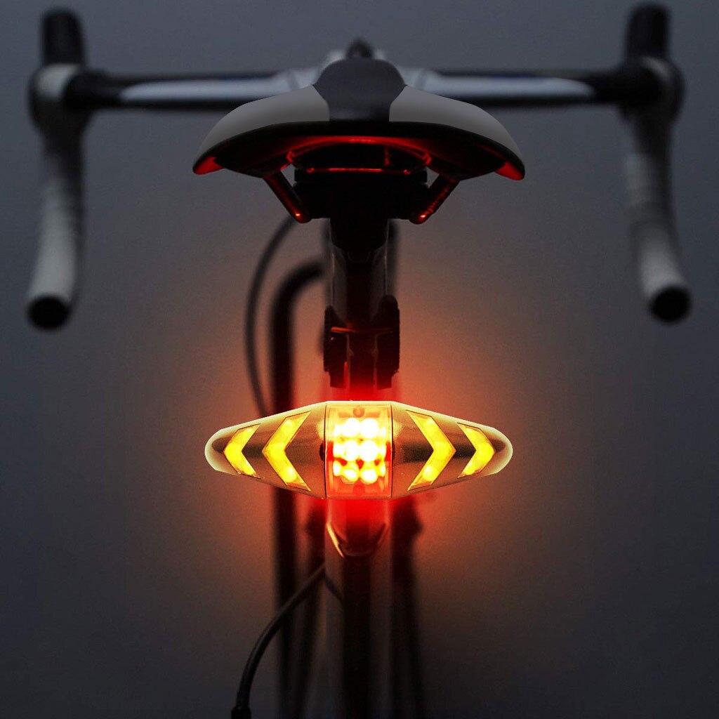 Led motocicleta da bicicleta traseira da cauda sinais de volta parar luz vermelha lâmpada luz traseira luz traseira da cauda do freio luz sinal volta universal # yl10