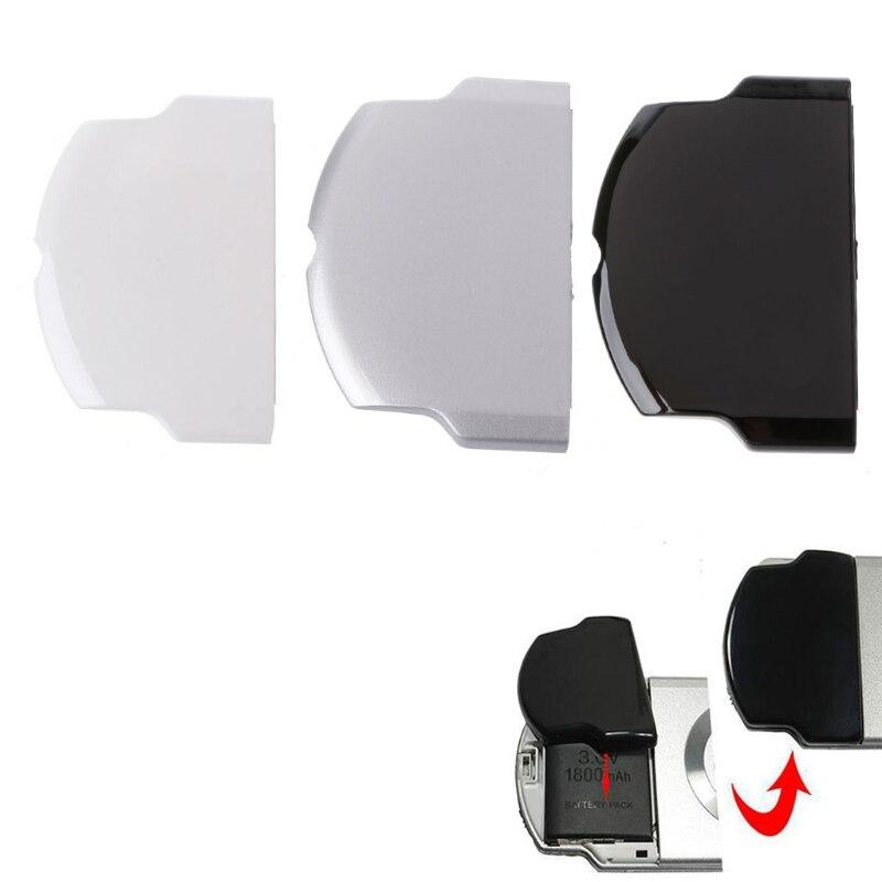 NUEVA cubierta trasera de reemplazo de carcasa de batería de Color negro/Blanco/plateado para la serie PSP 2000 3000