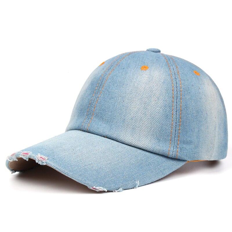 2020 nuevo color sólido gorra de béisbol vaquero para hombres alta calidad...
