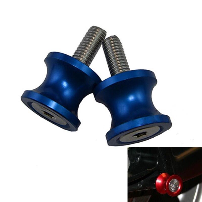 10mm 6mm 8mm Basculante carrete tornillos de soporte deslizantes para Honda CBR 600, 954, 1000 RR para Suzuki GSXR 750 para Yamaha YZF R1 R3 R6 R25