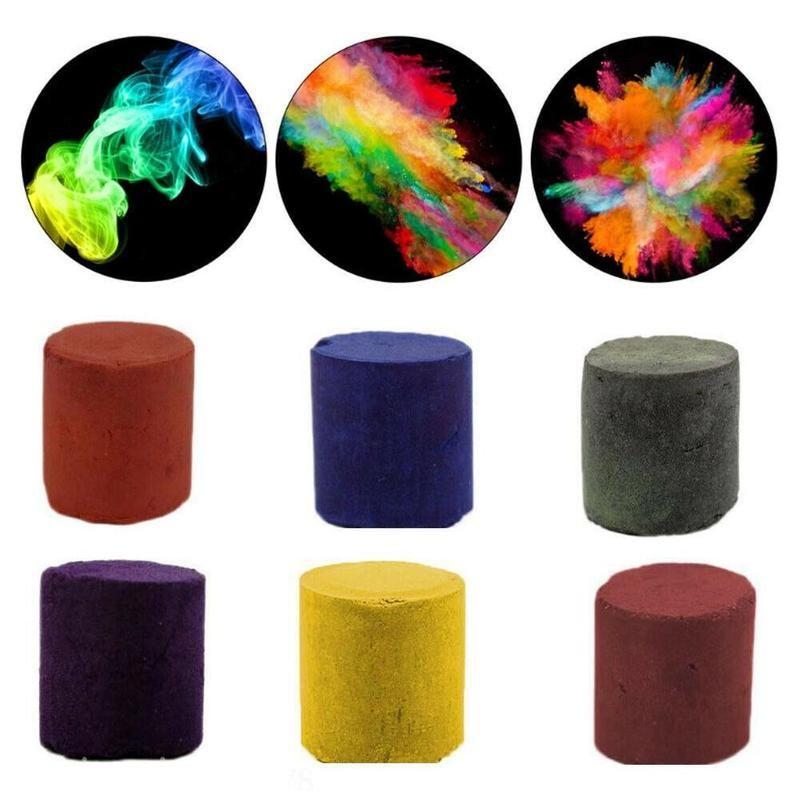 1 Uds accesorios para trucos de magia de Halloween, espray colorido para pastel de humo, fiesta de Halloween, utilería de estudio fotográfico, accesorios de trucos de magia portátil