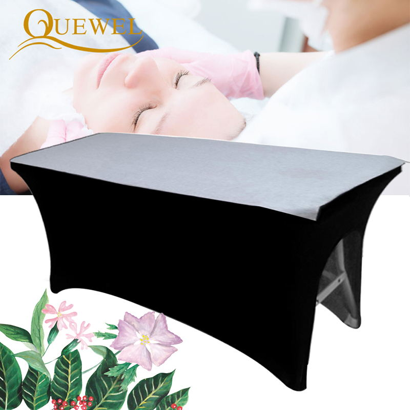 AliExpress - Eyelashes Bed Cover Beauty Sheets Elastic Table Stretchable Eyelash Extension Professional Cosmetic Salon Sheet with Hole Quewel