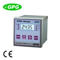 ce approved c270 industrial online ph and conductivity meter water conductivity meter conductivity controller