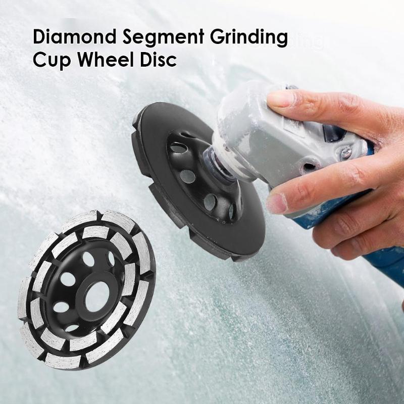 115/125/180mm hoja de disco de molienda de diamante abrasivos herramientas de hormigón molinillo Rueda de corte metalúrgico ruedas de molienda de sierra