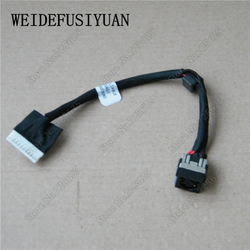 Conector de puertos estilo zócalo de carga para Dell Precision 17 7710 7720 M7710 M7720 Cable de entrada CC DC30100VH00