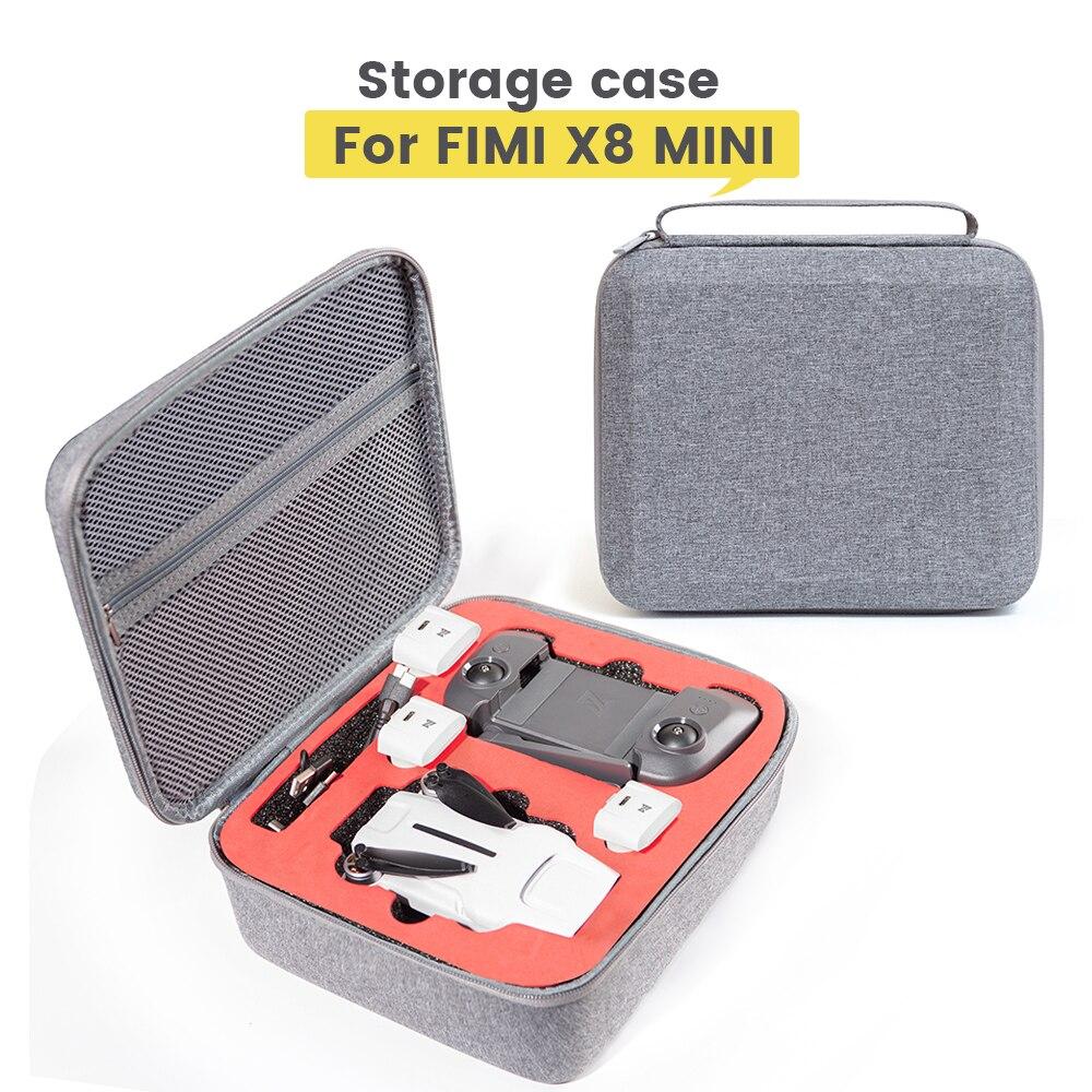 X8 mini caso à prova de choque bolsa caixa protetora saco de armazenamento para fimi x8 mini drone acessórios