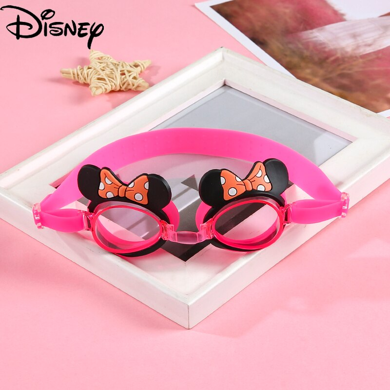 Disney Mickey Mouse Children's Goggles Student Waterproof Anti-fog HD Swimming Goggles Kids Baby Goggles Equipment