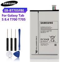 Оригинальный аккумулятор для планшета 100%, флейта для Samsung GALAXY Tab S 8,4, оригинальный аккумулятор 4900 мАч