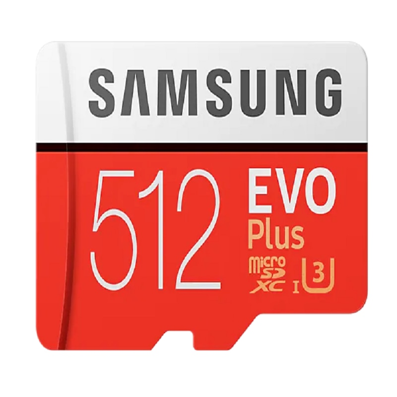 SAMSUNG EVO+ Micro SD 32GB 64GB 128GB 256GB 512GB SDHC 100MB/S Grade Class 10 Memory Card C10 UHS-I TF/SD Cards Trans Flash SDXC