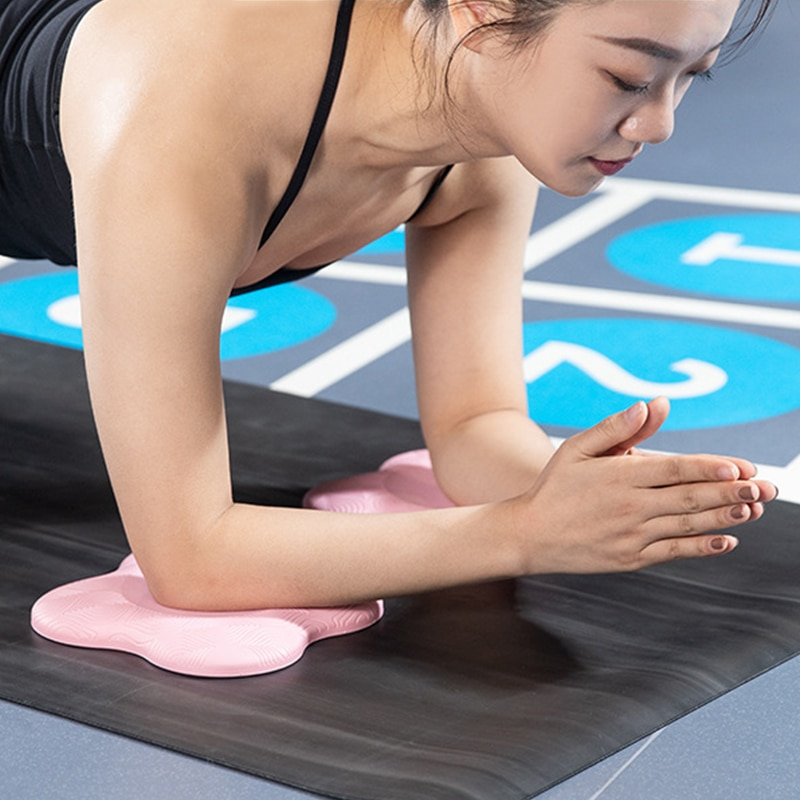 Нескользящие переносные наколенники для йоги, локти для запястья и бедер, поддерживающие подушечки для баланса рук для досок, пилатеса, фит...