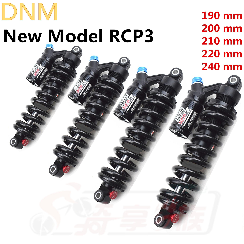 DNM RCP3 RCP2S amortiguador trasero suspensión ajustable duradera resorte contra choques cuesta abajo bicicleta de montaña