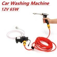 Dc 12V 65W Huishoudelijke Draagbare Hoge Druk Mini Auto Washer Cleaner Water Wassen Pomp Sproeier Kit Tool Auto wasmachine