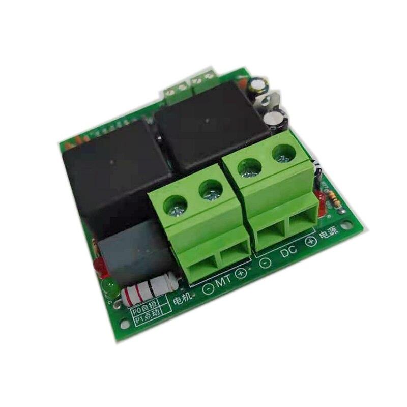 Плата управления реле Taidacent 12/24, устройство управления прямым и обратным двигателем постоянного тока, 80 А, высокоточный двигатель постоянно...