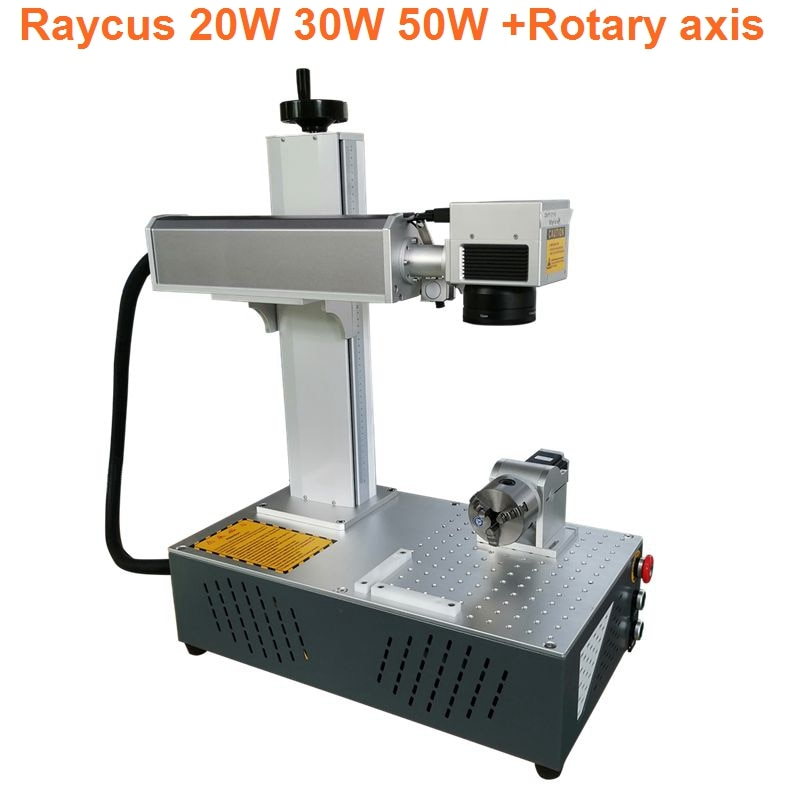 mini fiber laser marking machine with Raycus fiber source 20W 30W 50W cheap price with rotary axis indcluded the open source openpilot mini cc3d flight control traverse machine qav250 330 uses multi axis four axis equivalent to f3