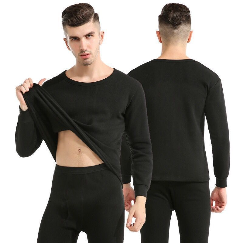 New style warm underwear men\'s suit thickened autumn and winter bottoming autumn clothes and trousers