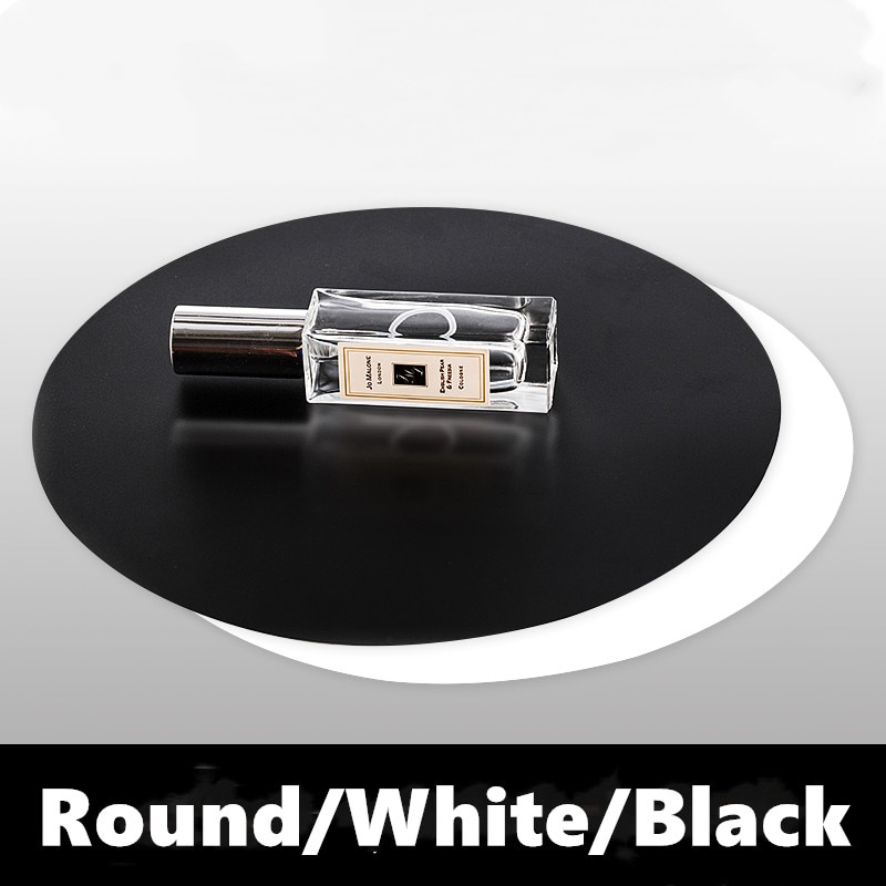 Photo Reflection Plate Black and White Photo Reflection Plate Background Plate Non Acrylic Reflector Rotary Shooting Props enlarge