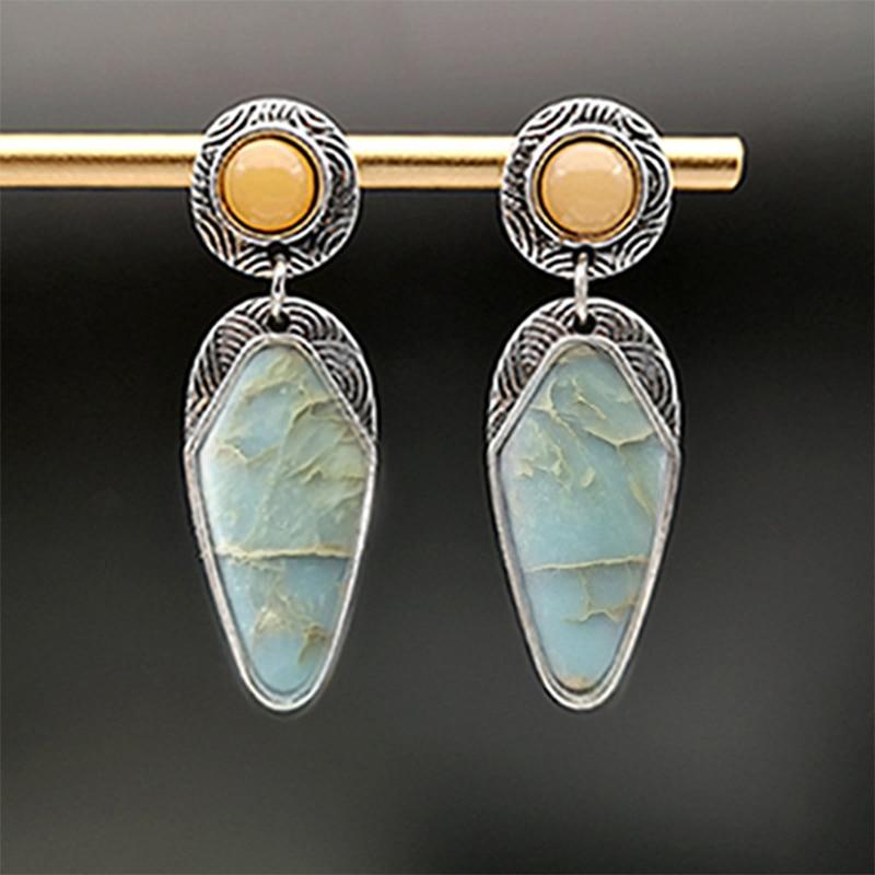 Богемные-Винтажные-висячие-серьги-из-натурального-камня-и-смолы-для-женщин-этнические-Этнические-украшения-аксессуары-серебряные-серьги-к