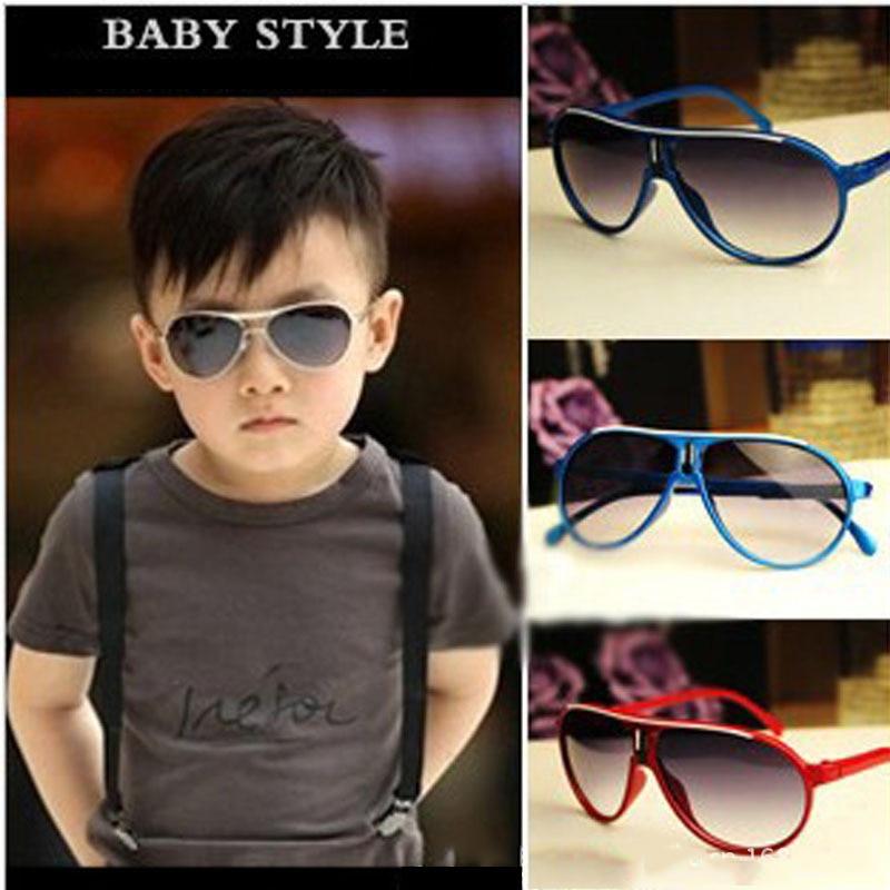 New fashion Sunglasses Children Girl Boy Baby kids AC lens pc frame children girls 1pc UV400 boys