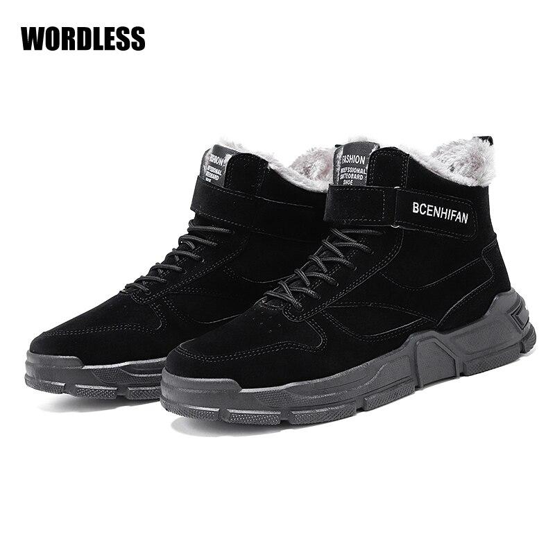 Explosion-botas de nieve informales para Hombre, zapatos masculinos cómodos para caminar al...