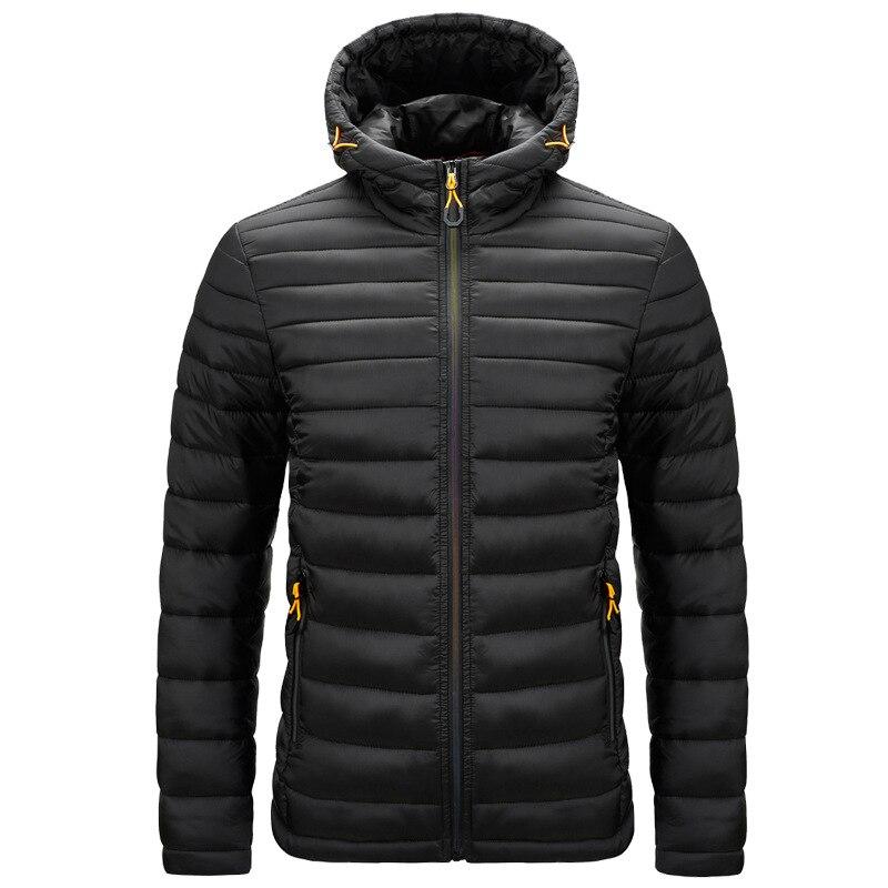 Мужская толстовка с капюшоном хлопковая стеганая куртка демисезонная куртка на осень и зиму, новый большой похлопывающими хлопковая стега...