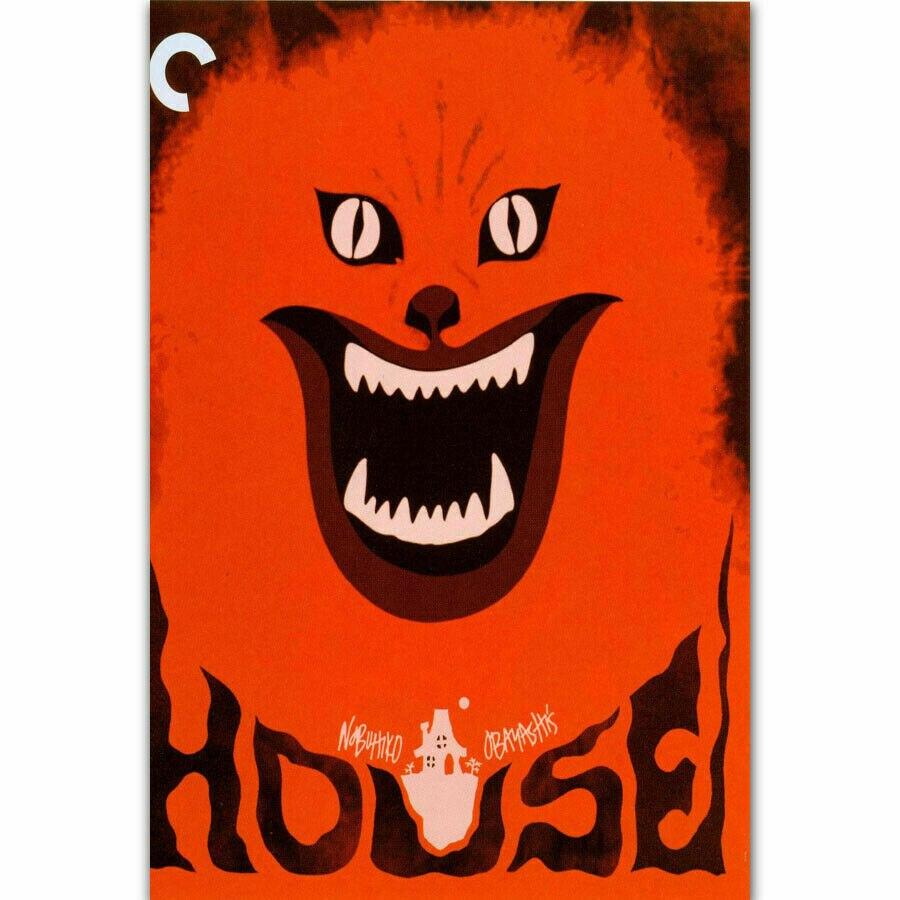 Nueva serie de televisión de Horror de hauu, juego de tela de seda, póster de pared, decoración de arte, pegatina brillante