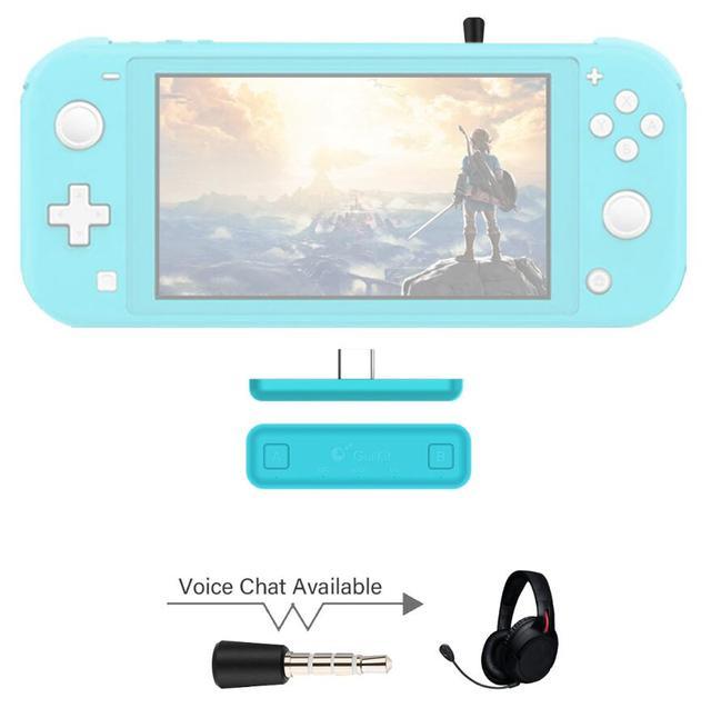 Беспроводной аудиопередатчик GuliKit NS07 Pro, маршрут Air, голосовой чат, USB C, Bluetooth, аудиоадаптер для Nintendo Switch Lite, PS4, ПК