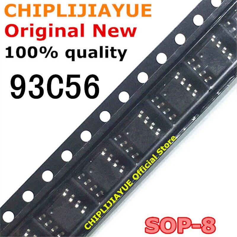 10 Uds 93C56 SOP-8 AT93C56 SOP AT93C56A SOP8 SMD nuevo y original IC Chipset