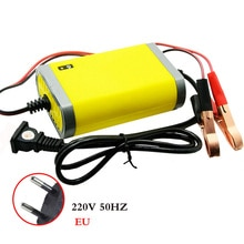 Мини-адаптер для автомобильного аккумулятора, 12 В, 2 а, с европейской вилкой