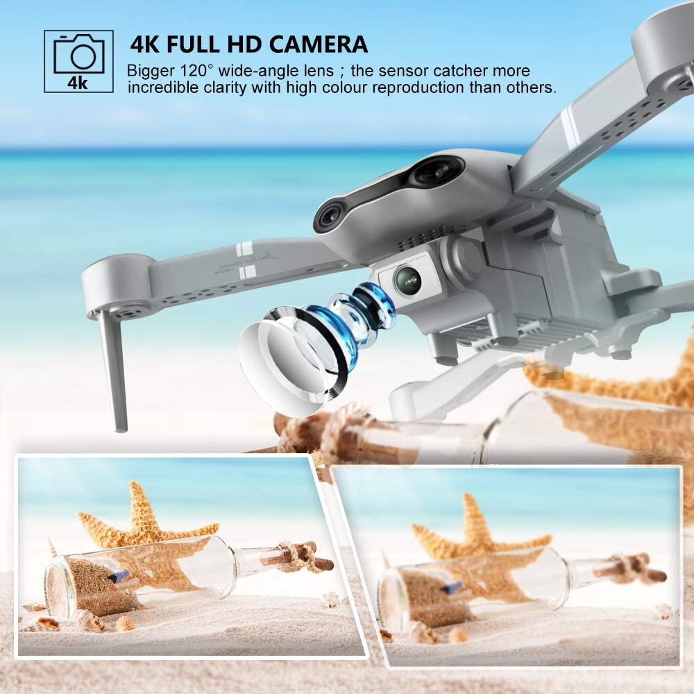 F3 drone GPS 4K 5G WiFi live video FPV quadrotor flight 25 minutes rc distance 500m drone Profesional HD wide-an dual camera enlarge