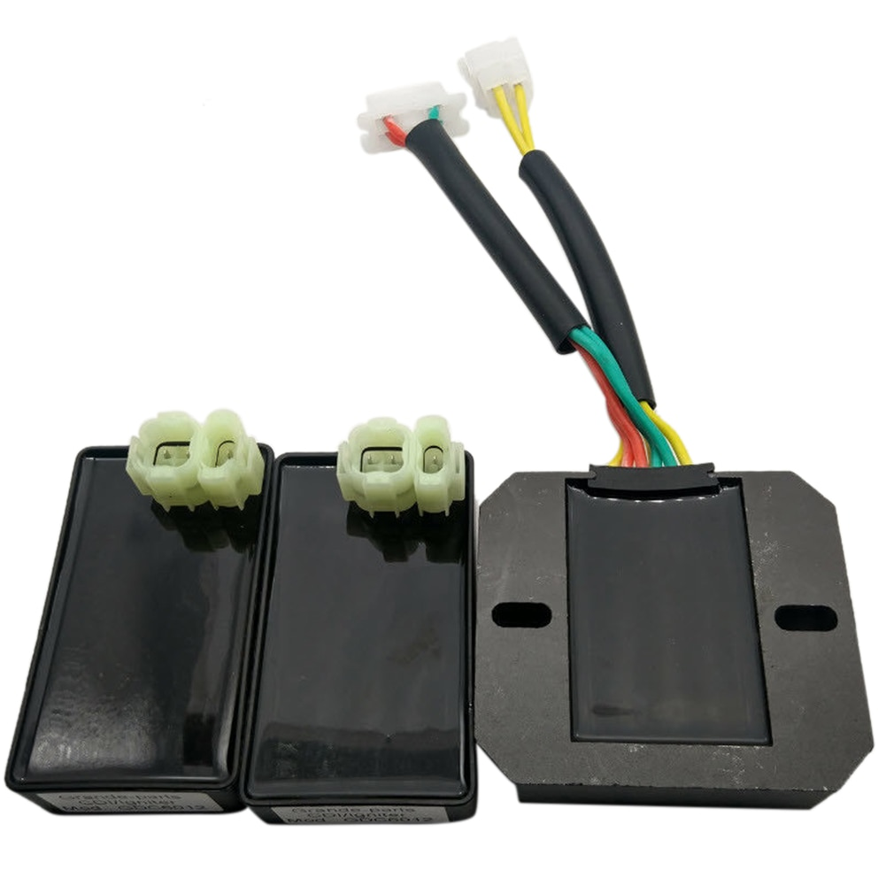 2 uds. Regulador Digital CDI de motocicleta pieza de encendido estándar para Honda XL600 V Transalp/XRV 650 África Twin CI558 + 1 unidad de regulador