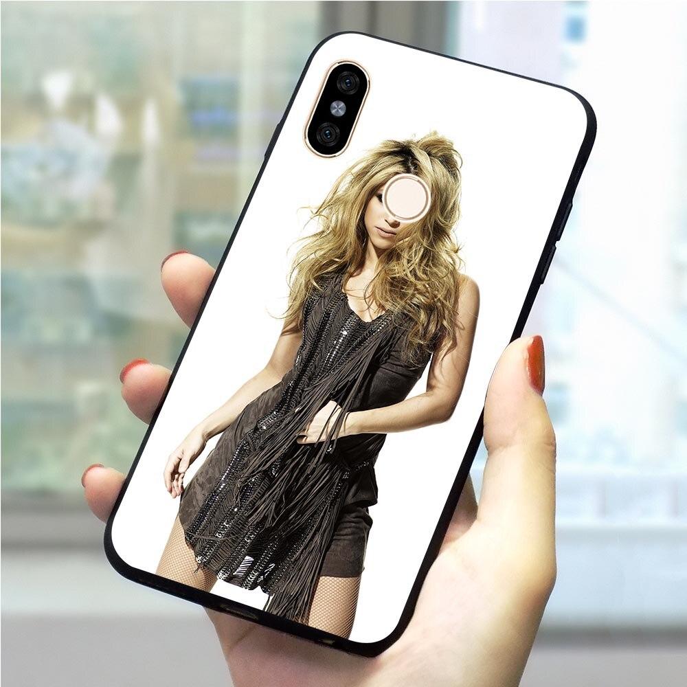 Shakira Isabel Mebarak Ripoll Phone Case for Xiaomi Mi 8se Cover Mi CC9E CC9 A3 Pro F1 A1 5X 6X A2 Lite 6 8 9 9SE 9T Pro