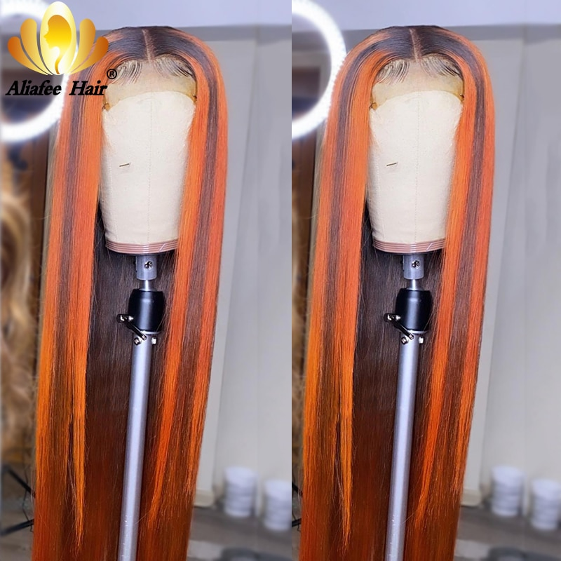 أومبير الملونة البرتقال البني 30