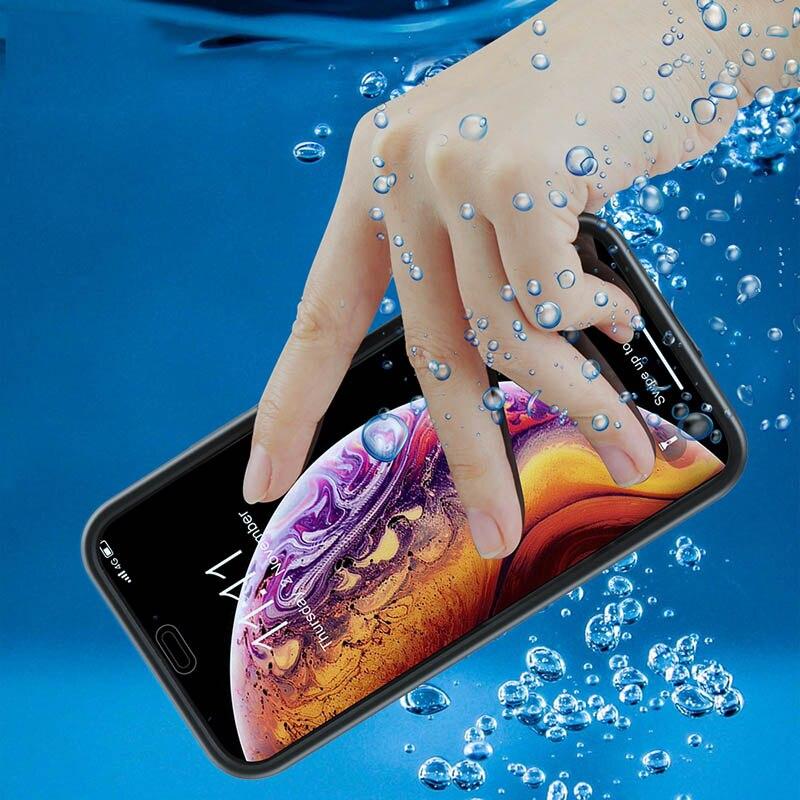 Funda para iPhone SE 2020, resistente al agua IP68, funda subacuática para iPhone SE 2 S E 2020 11 Pro X XS Max XR 7 8 6 6S Plus, fundas 5S