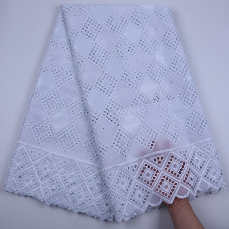 AliExpress - Pure white 100% Cotton African Lace Fabric High Quality Dry Lace Fabric Embroidery Swiss Voile Lace In Switzerland For Party Sew