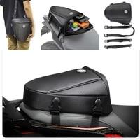 motorcycle tail bag multifunction motocross back seat motorbike trunk waterproof moto shoulder bag suitcase rear motorcycle bag