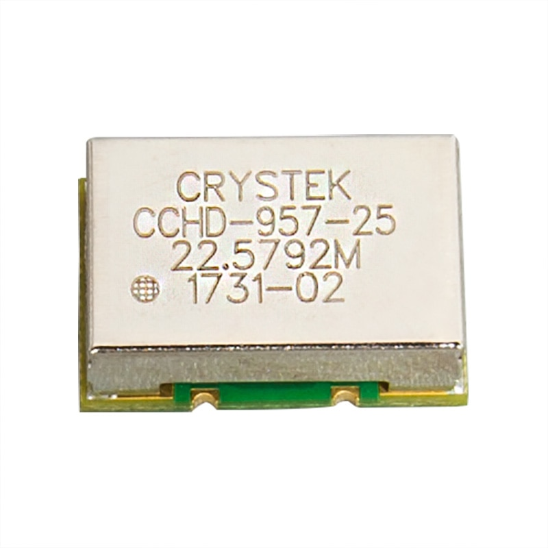1PCS CRYSTEK CCHD-957 Ultra-low Phase Noise Kristall Oszillator Femtosecond Uhr 22,5792 24,5760 100MHz